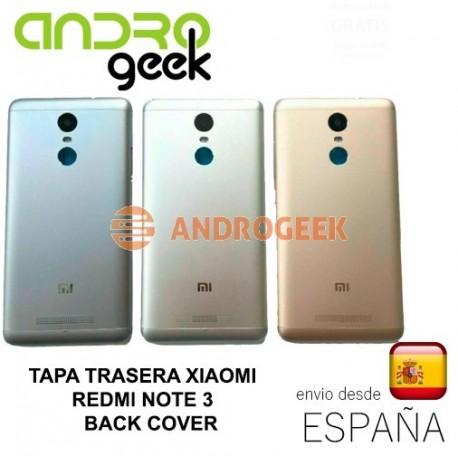 Tapa Xiaomi Redmi NOTE 3 cubre bateria chasis back cover