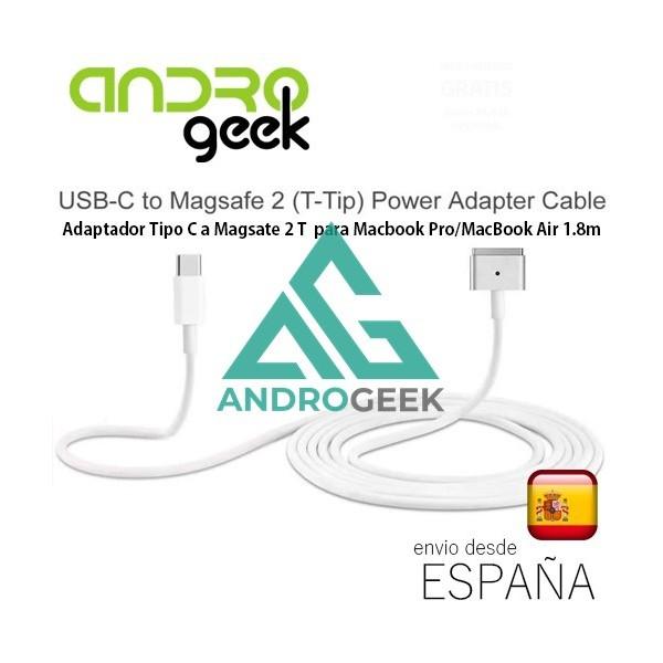 Adaptador Tipo -C a Magsate 2 T  para Macbook Pro/MacBook Air 1.8m