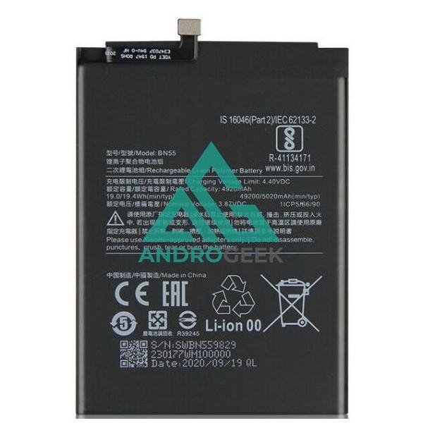 Batería BN55 para Xiaomi Note 9S 5020mAh