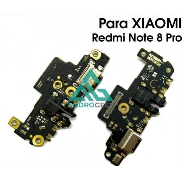 Placa de carga XIAOMI REDMI NOTE 8 PRO conector carga tipo C ANTENA MICROFONO