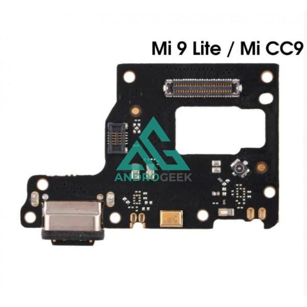 Placa carga para XIAOMI MI 9 Mi9 LITE / CC9 CONECTOR carga ANTENA MICROFONO