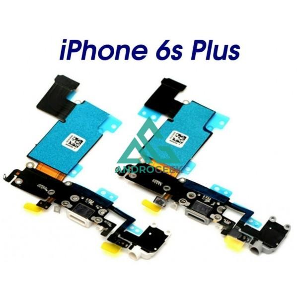 Conector Carga Iphone 6, 6s, Plus Color Gris o Blanco Jack Auricular Microfono