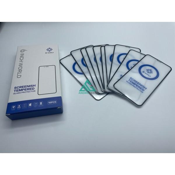 PACK 10 unidades Cristal Templado iPhone 12 PRO MAX 2.5D Protector Flexible Glass 2.5D Full Glue