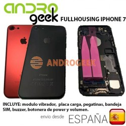 Full housing iPhone 7 carcasa chasis tapa trasera iPhone 7 antena wifi carga