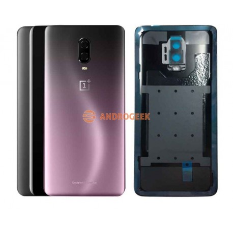 Tapa trasera Oneplus 6T CON LENTE one plus 6T cubre batería back cover